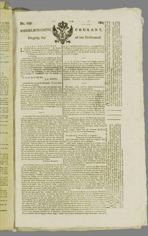 Middelburgsche Courant 1809-09-26