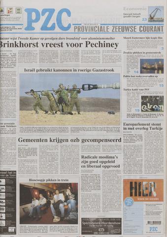 Provinciale Zeeuwse Courant 2005-09-29
