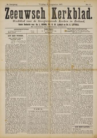 Zeeuwsche kerkbode, weekblad gewijd aan de belangen der gereformeerde kerken/ Zeeuwsch kerkblad 1907-08-23