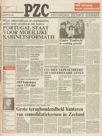 Provinciale Zeeuwse Courant 1976-04-27