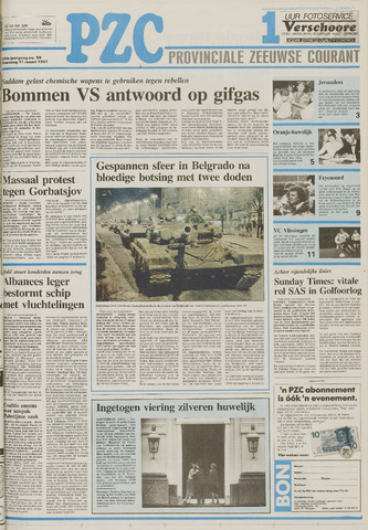 Provinciale Zeeuwse Courant 1991-03-11