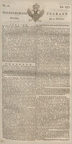 Middelburgsche Courant 1771-02-09