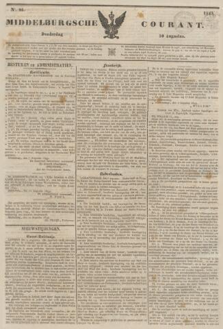 Middelburgsche Courant 1843-08-10