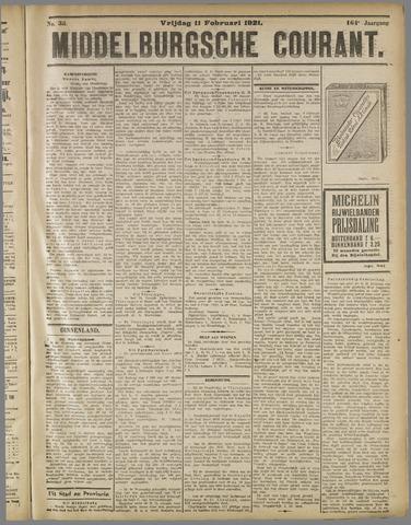 Middelburgsche Courant 1921-02-11