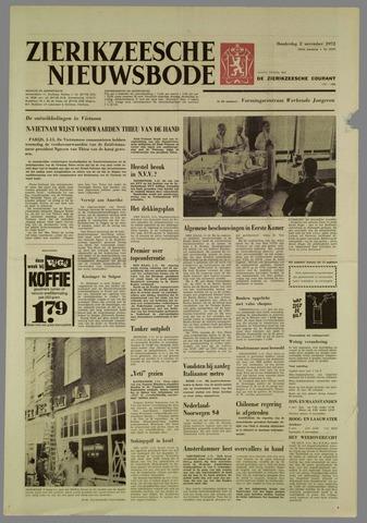 Zierikzeesche Nieuwsbode 1972-11-02