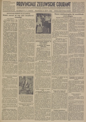 Provinciale Zeeuwse Courant 1942-09-21