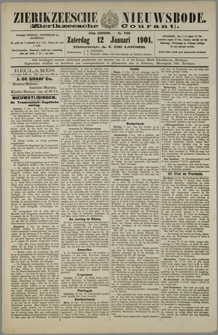 Zierikzeesche Nieuwsbode 1901-01-12