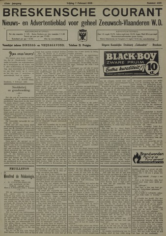 Breskensche Courant 1936-02-07