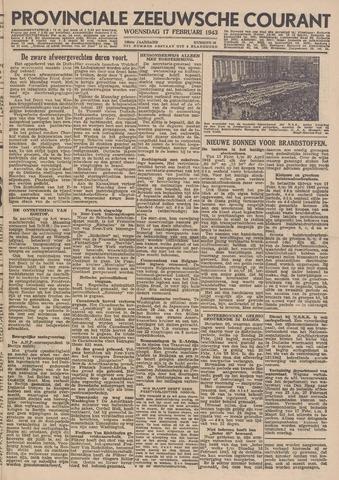 Provinciale Zeeuwse Courant 1943-02-17