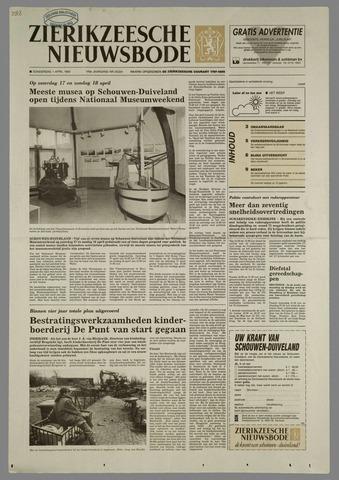 Zierikzeesche Nieuwsbode 1993-04-01