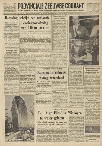 Provinciale Zeeuwse Courant 1957-10-07