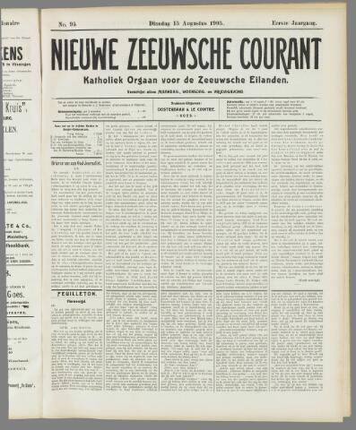 Nieuwe Zeeuwsche Courant 1905-08-15