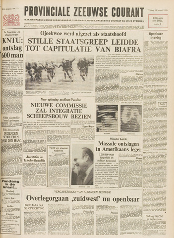 Provinciale Zeeuwse Courant 1970-01-16