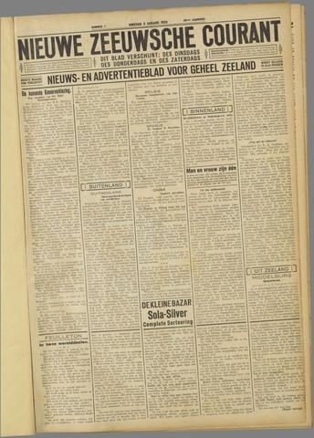 Nieuwe Zeeuwsche Courant 1933