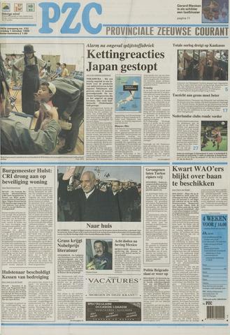 Provinciale Zeeuwse Courant 1999-10-01