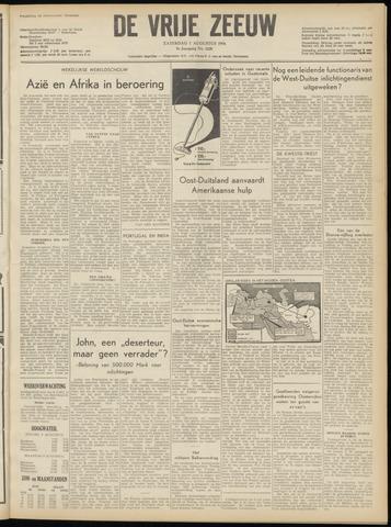 de Vrije Zeeuw 1954-08-07