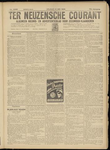 Ter Neuzensche Courant. Algemeen Nieuws- en Advertentieblad voor Zeeuwsch-Vlaanderen / Neuzensche Courant ... (idem) / (Algemeen) nieuws en advertentieblad voor Zeeuwsch-Vlaanderen 1935-05-10