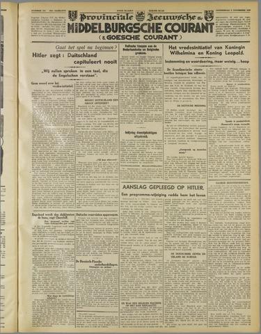 Middelburgsche Courant 1939-11-09