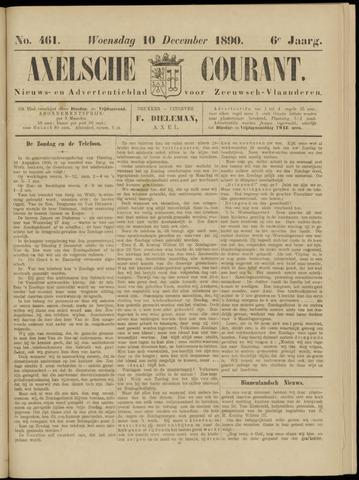 Axelsche Courant 1890-12-10