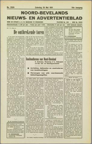 Noord-Bevelands Nieuws- en advertentieblad 1951-05-26