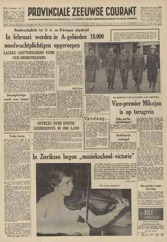 Provinciale Zeeuwse Courant 1959-01-21
