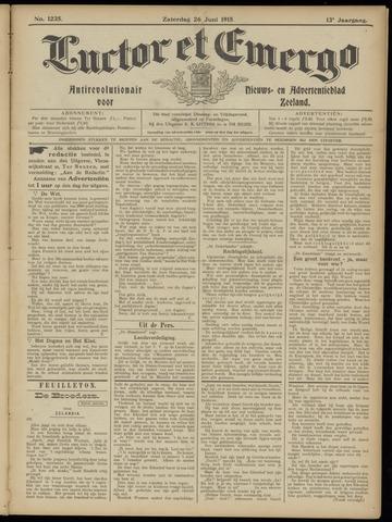 Luctor et Emergo. Antirevolutionair nieuws- en advertentieblad voor Zeeland / Zeeuwsch-Vlaanderen. Orgaan ter verspreiding van de christelijke beginselen in Zeeuwsch-Vlaanderen 1915-06-26