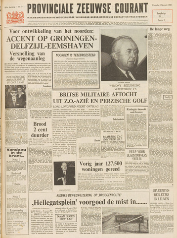 Provinciale Zeeuwse Courant 1968-01-17