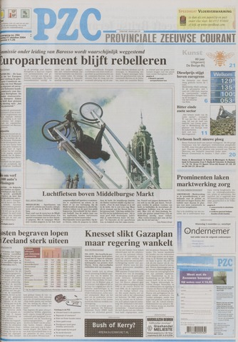 Provinciale Zeeuwse Courant 2004-10-27