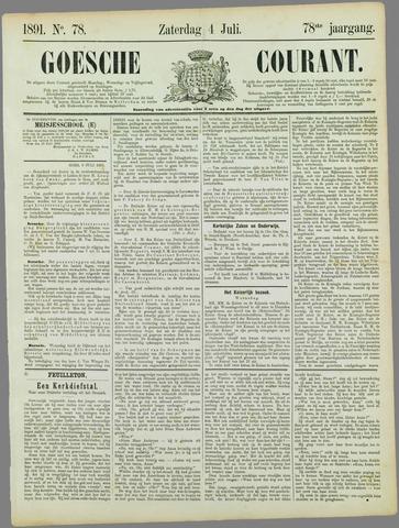 Goessche Courant 1891-07-04
