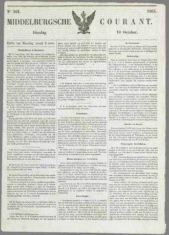 Middelburgsche Courant 1865-10-10