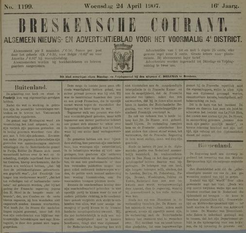 Breskensche Courant 1907-04-24