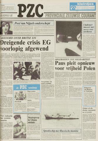 Provinciale Zeeuwse Courant 1983-06-20