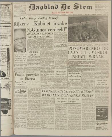 de Stem 1961-10-14