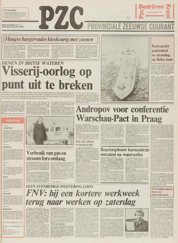 Provinciale Zeeuwse Courant 1983-01-04