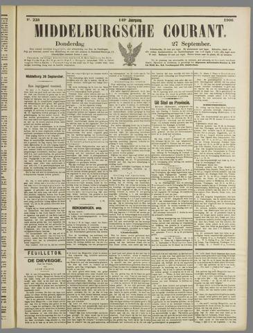 Middelburgsche Courant 1906-09-27