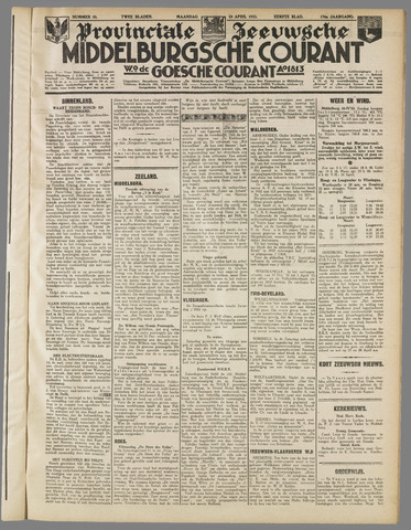 Middelburgsche Courant 1933-04-10