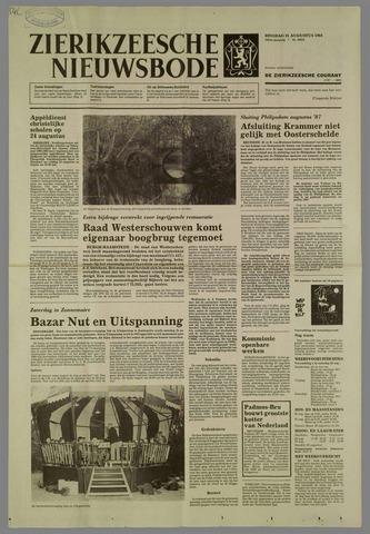 Zierikzeesche Nieuwsbode 1984-08-21
