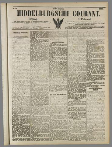 Middelburgsche Courant 1903-02-06