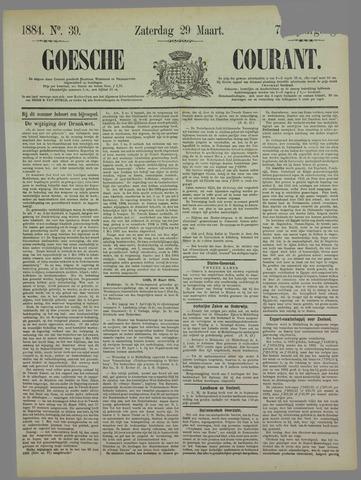 Goessche Courant 1884-03-29