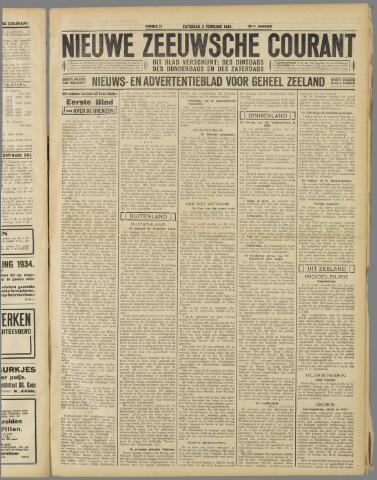 Nieuwe Zeeuwsche Courant 1934-02-03