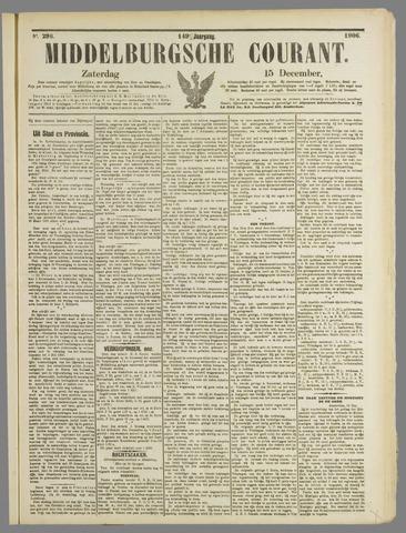Middelburgsche Courant 1906-12-15