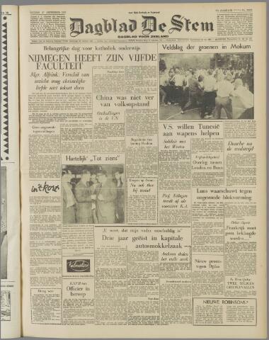 de Stem 1957-09-27