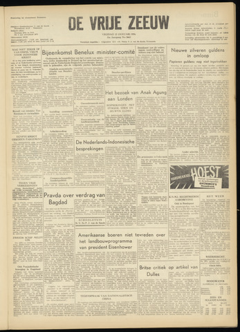 de Vrije Zeeuw 1956-01-13