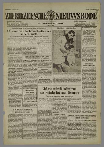 Zierikzeesche Nieuwsbode 1958