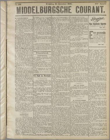 Middelburgsche Courant 1921-10-21