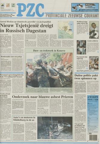Provinciale Zeeuwse Courant 1999-08-09