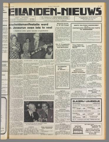 Eilanden-nieuws. Christelijk streekblad op gereformeerde grondslag 1975-02-11