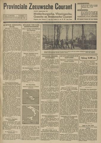 Provinciale Zeeuwse Courant 1941-01-23