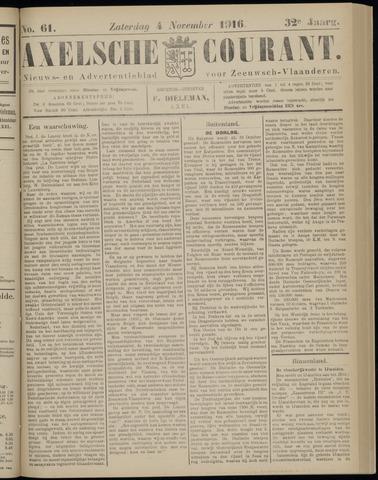 Axelsche Courant 1916-11-04