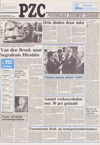 Provinciale Zeeuwse Courant 1989-02-01